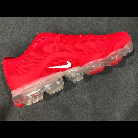 ce7d9b54345b2 Nike Vapormax 2018 women s shoes red
